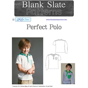 Blank Slate Patterns Perfect Polo Top Sewing Pattern