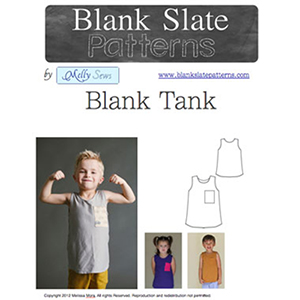 Blank Slate Patterns Blank Tank Top Sewing Pattern