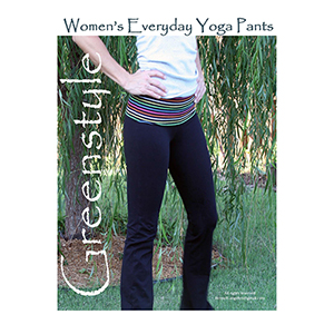 Greenstyle Women\'s Everyday Yoga Pants Sewing Pattern