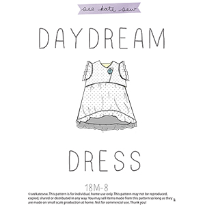 See Kate Sew Daydream Ruffle Dress Sewing Pattern