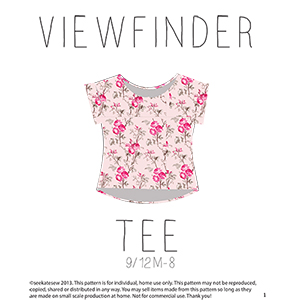 See Kate Sew Viewfinder Top Sewing Pattern