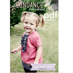 See Kate Sew Sundance Top Mini Dress Sewing Pattern