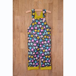 Two Stitches Freddie Dungarees Sewing Pattern