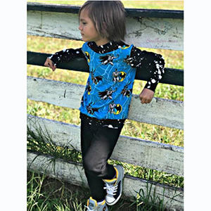 Rain City Pattern Co. Mountain View Hoodie and Tee Sewing Pattern