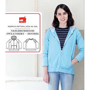 Liesl and Co. Neighborhood Hoodie and Sweatshirt Sewing Pattern