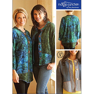 Indygo Junction Modern Medley Tunic and Top Sewing Pattern
