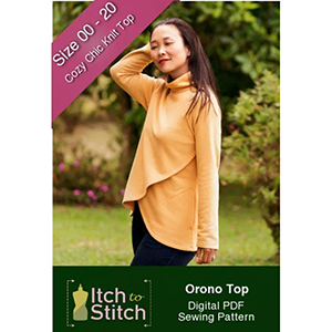 Itch to Stitch Orono Top Sewing Pattern