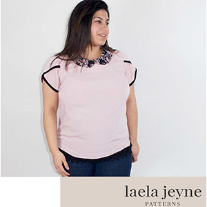 Laela Jeyne Cosette Blouse Sewing Pattern