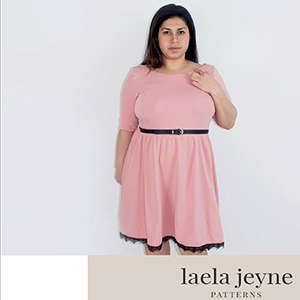 Laela Jeyne Josephine Dress Sewing Pattern