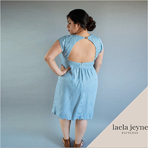 Laela Jeyne Camille Dress Sewing Pattern