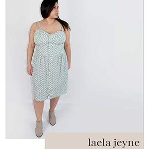 Laela Jeyne Victoire Dress Sewing Pattern