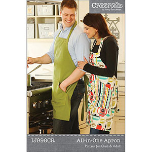Indigo Junction All In One Apron Sewing Pattern