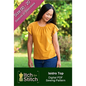 Itch to Stitch Isidro Top Sewing Pattern