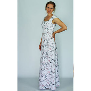Gina Renee Designs Woven Maxi Dress Sewing Pattern