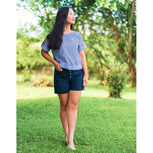 Itch to Stitch Hermosa Shorts Sewing Pattern