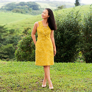 Itch to Stitch Oia Dress Sewing Pattern