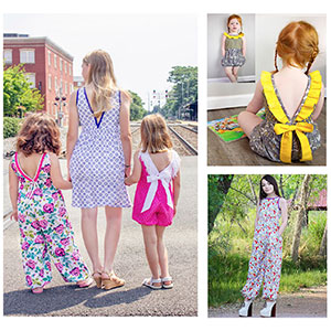 Eunoia Patterns Bristol Jumpsuit Sewing Pattern