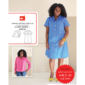 Liesl and Co. Camp Shirt and Dress Sewing Pattern