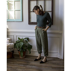 Untitled Thoughts Chandler Trousers Sewing Pattern