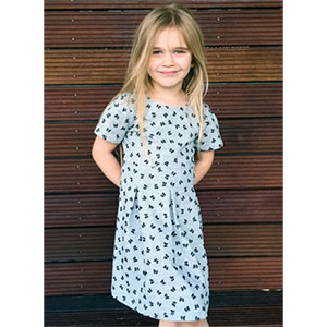 Brilliant Patterns Pia Dress Youth Sewing Pattern