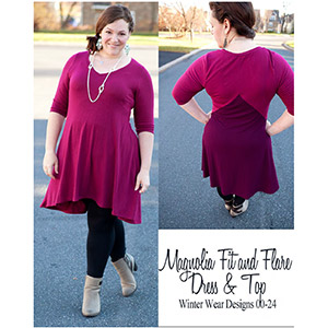 Winter Wear Designs Magnolia Fit & Flare Sewing Pattern