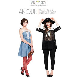 Victory Patterns Anouk Dress and Top Sewing Pattern