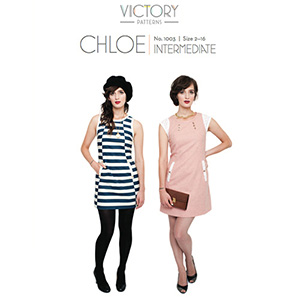 Victory Patterns Chloe Dress Sewing Pattern
