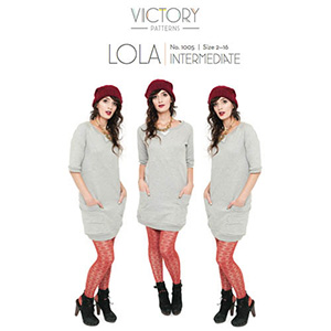 Victory Patterns Lola Dress Sewing Pattern