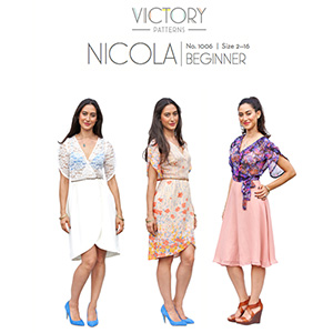 Victory Patterns Nicola Dress Sewing Pattern