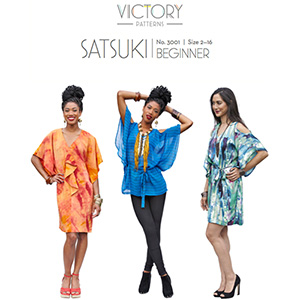Victory Patterns Satsuki Dress and Top Sewing Pattern