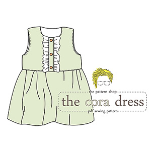 Lucy Blaire The Cora Dress Sewing Pattern