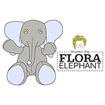 Lucy Blaire Flora Elephant Sewing Pattern