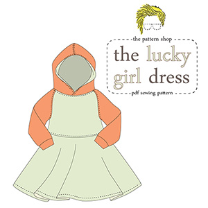 Lucy Blaire Lucky Girl Dress Sewing Pattern