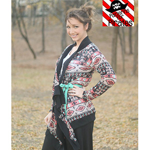 Patterns for Pirates Carefree Cardigan Sewing Pattern