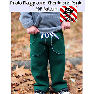 Patterns for Pirates Playground Shorts and Pants Sewing Pattern