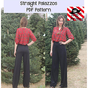 Patterns for Pirates Straight Palazzos Sewing Pattern
