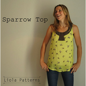 Liola Designs Sparrow Top  Sewing Pattern