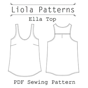 Liola Designs Ella Top Sewing Pattern