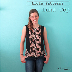 Liola Designs Luna Top Sewing Pattern