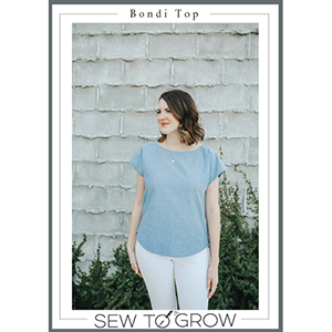 Sew To Grow Bondi Top Sewing Pattern
