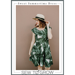 Sew To Grow Sweet Summertime Peplum and Dress Sewing Pattern
