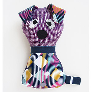 My Funny Buddy Scruffy the Dog Sewing Pattern