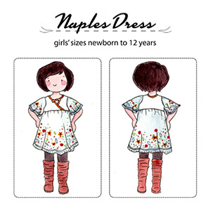 Jennuine Design Naples Dress and Tunic Sewing Pattern