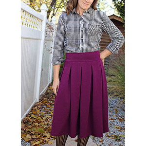 Love Notions Sybil Illusion Skirt Sewing Pattern