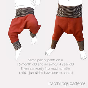Thread Faction Pirate Pants Sewing Pattern
