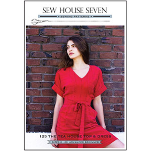 Sew House Seven Tea House Top and Dress Sewing Pattern