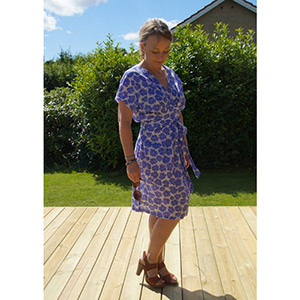 Wardrobe By Me Akinori Wrap Dress Sewing Pattern