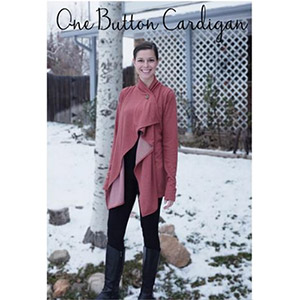 Greenstyle One Button Cardigan Sewing Pattern