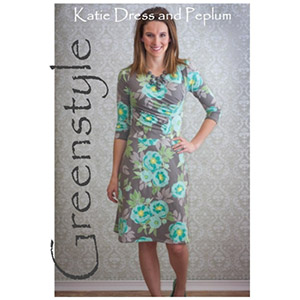 Greenstyle Katie Dress or Peplum Top Sewing Pattern