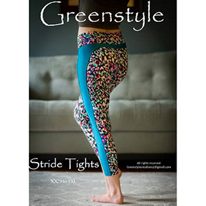 Greenstyle Stride Athletic Tights Sewing Pattern